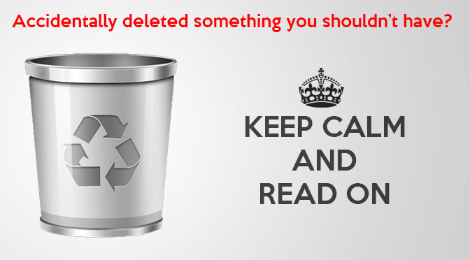 How To Recover Deleted Files Quickly