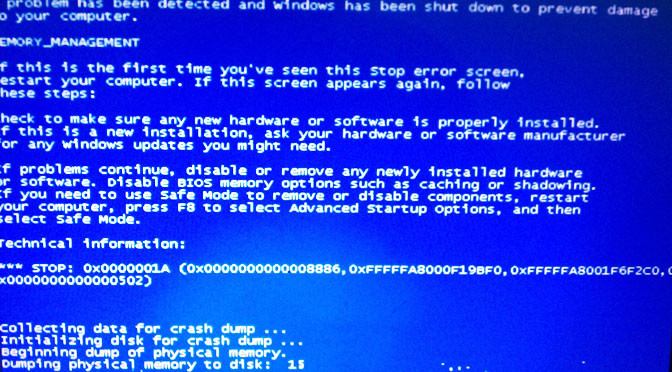 Solved: 'Blue Screen Of Death' When Booting From WinXP CD