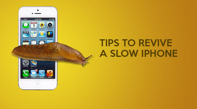 Super Simple Way To Fix A Slow iPhone