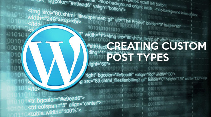 Custom Post Type – WordPress